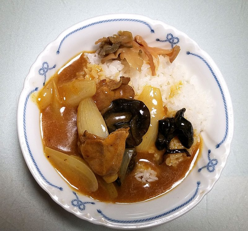 中華カレー試作