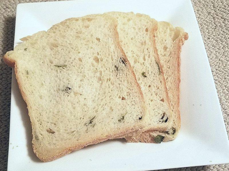カレーリーフ入りパン