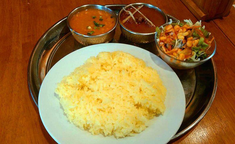 インド料理店ランチ、いつもの・・・