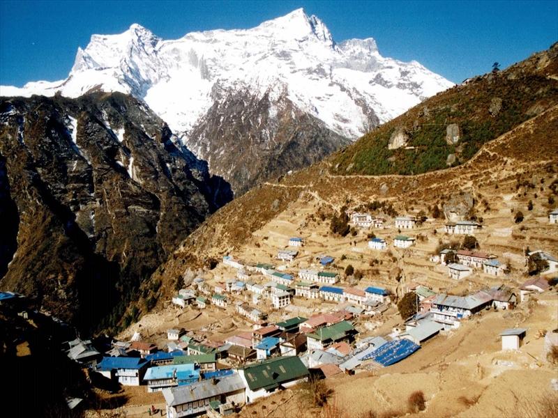 ネパール旅行を思い出しました。