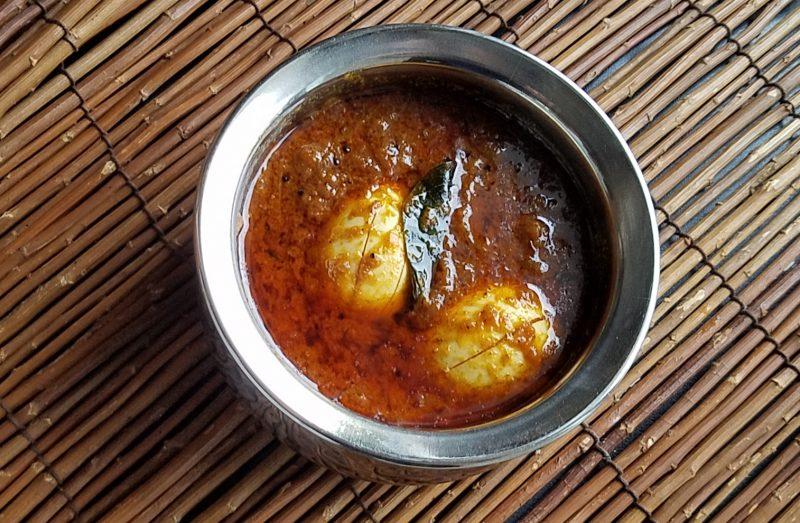 Chettinad egg masala「たまに食べるなら・・・」