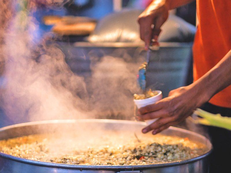 どうやらインド料理のすべては屋台にあるらしいじゃないですか?
