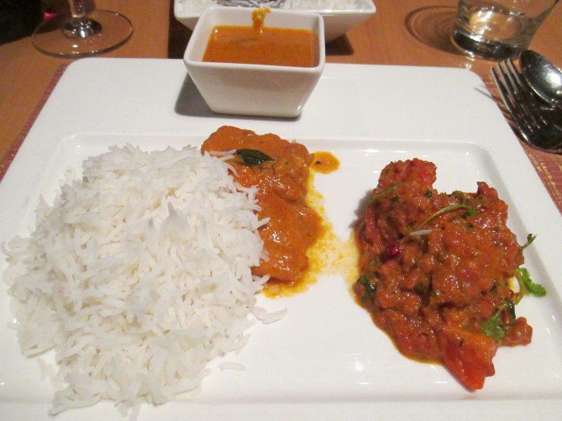 インドご飯(高級レストランから機内食まで)