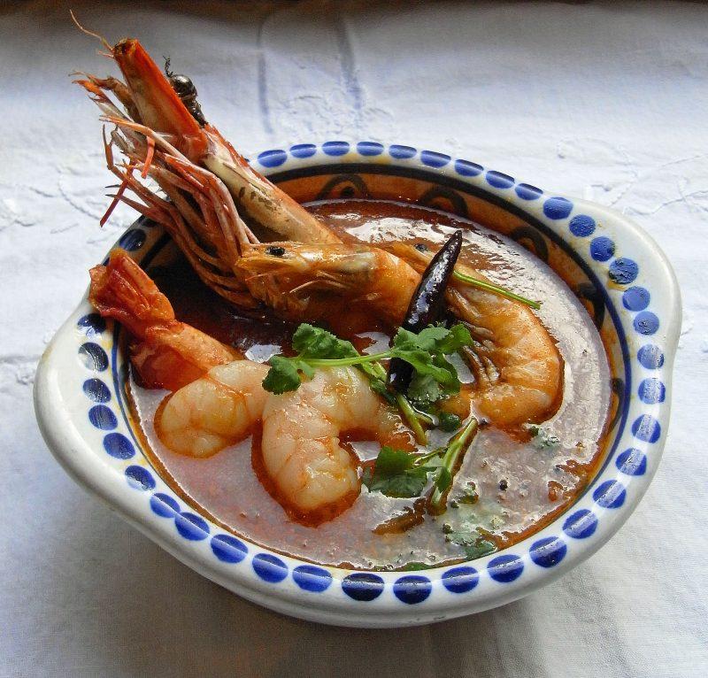 銀座店 2月のカレー「濃厚な味の海老カレー」