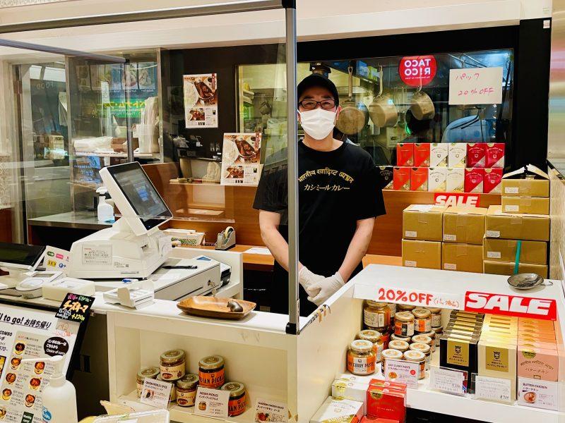 デリー東京ミッドタウン店 ラストラン